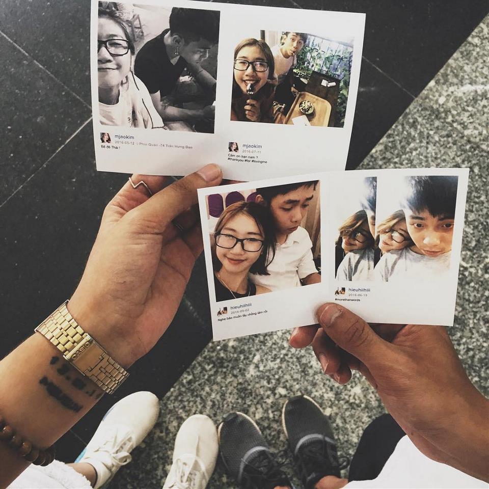 Trào lưu chụp ảnh – in ảnh lấy ngay hot rần rần ở Đà Nẵng