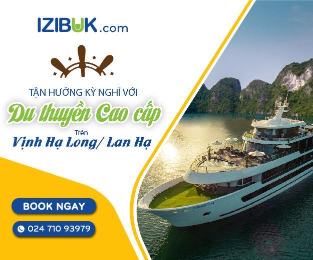 Tận hưởng kỳ nghỉ tràn ngập niềm vui với du thuyền cao cấp trên vịnh Hạ Long